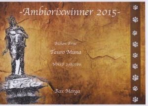 Sabi ambioriwinner 2015