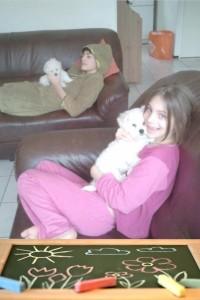 kind en hond 16