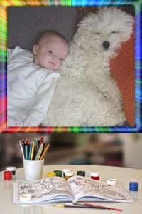 kinderen omgaan met hond